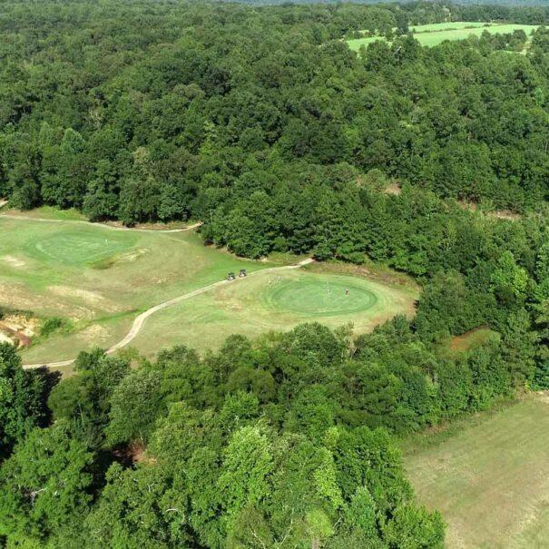 Golfer on Hole 2